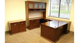 u shaped desk with hutch full image for u shaped desk with hutch