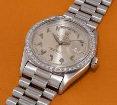 on with the rolex day date 40 arabic special edition