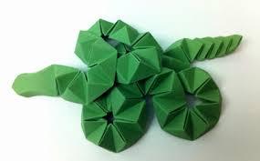 Origami Snake - origami beth johnson s origami design secrets