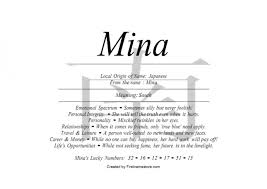 mina name means south in japanese nydob com