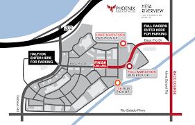 Map Of Mesa Az The Phoenix Marathon East Valley Guide
