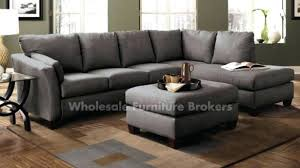 sectional couch with chaise lounge living room charcoal gray