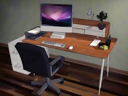 Build Your Own Gaming Desk by How To Organize Your Desk 13 Steps With Pictures Wikihow