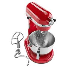 Home Kitchen Aid by Kitchenaid Professional Hd Stand Mixer Red Walmart Com