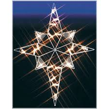 Lighted Snowflakes Outdoor by Silhouette Star Of Bethlehem Lighted Led Wire Frame Shape Large