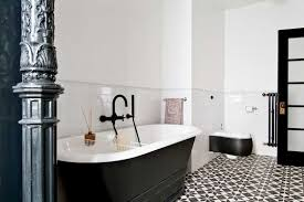 28 black and white tiled bathroom ideas black and white black and white tiled bathroom ideas black and white bathroom tile flooring ideas home