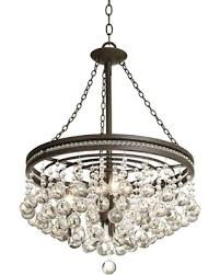 Crystal And Bronze Chandelier Slash Prices On Regina Olive Bronze 19