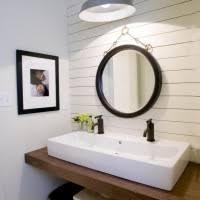 Bathroom Trough Sink Natural Wooden Vanity With White Granite Top Trough Sink Bathroom