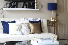 Blue And Gold Home Decor Blue Home Decor Accents Best Decoration Ideas For You