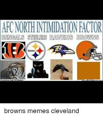 Ravens Steelers Memes - aro northntimidationactor bengals steelers ravens browns steelers
