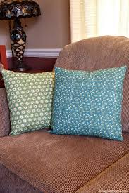 Couch Pillow Slipcovers How To Make Throw Pillow Slipcovers From Cloth Napkins Farm