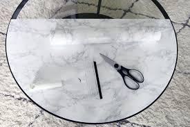 iheart organizing ooh la la marble top coffee table