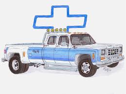 how to draw a chevy truck roadrunnersae