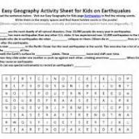 earthquake worksheets for 3rd grade makeup aquatechnics biz