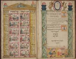 jewish museum london u2013 passover haggadah