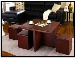 Coffee Table Storage Ottoman Large Round Storage Ottoman Coffee Table Home Design Ideas