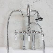 edwardian wall mount tub faucet in chrome