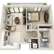 small one bedroom house plans 70 best 3d plans images on apartment plans home