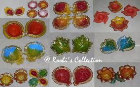 roohi u0027s collections 10 ways of making diyas and rangoli to