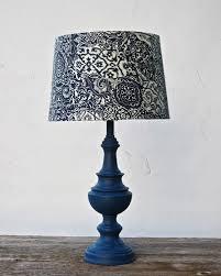 blue table lamp shade cashorika decoration