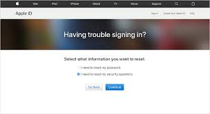 if you forgot the answers to your apple id security questions
