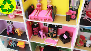 59 Best Barbie Homes Ideas by Diy Miniature Doll Bookcase With Tp Rolls Mini Doll House Tour
