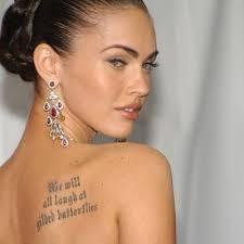 29 best megan fox tattoos images on fox tattoos megan
