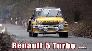 renault 5 turbo group b renault 5 turbo gr 4 at legend boucles de bastogne youtube