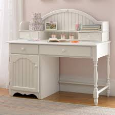Small Computer Desk For Kitchen Westfield Cottage White Desk With Optional Hutch From Hayneedle