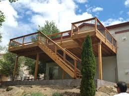 deck designs co composite decking colorado springs o u0027 leary