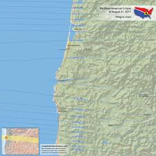 Southern Oregon Coast Map by Oregon Eclipse U2014 Total Solar Eclipse Of Aug 21 2017