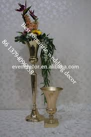 Tall Vases Wholesale Gold Trumpet Vases Gold Trumpet Vases Suppliers And Manufacturers