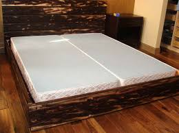 how to make a platform bed frame with storage underneath the