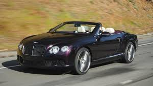 black convertible bentley 2013 bentley continental gt speed convertible review notes autoweek