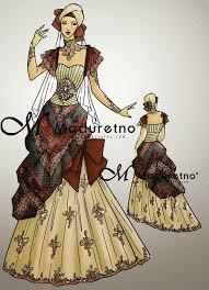 wedding dress batik desain wedding dress batik untuk muslimah modern http