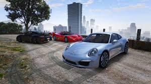 Porsche 911 Carrera - porsche 911 carrera s add on replace gta5 mods com