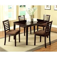 cardiff espresso dining table set room round 16425 architecture