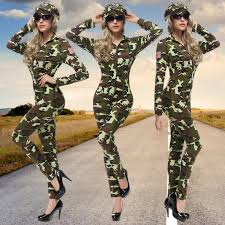 Womens Camo Halloween Costumes Compare Prices Army Costumes Women Shopping Buy