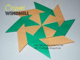 tbc crafters 38 u2013 origami windmill girly creation