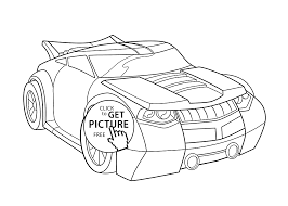 car coloring pages kids printable free rescue bots
