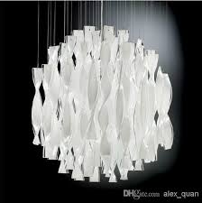 Chandelier Types Discount Hybrid Type Stair Large Chandelier Modern Glass Pendant