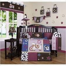 Geenny Crib Bedding Geenny Crib Cf 20 Western 13 Baby Bedding Set Walmart