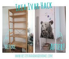 ikea ivar hack nov 5 hester s house updates ikea ivar hack plywood and doors