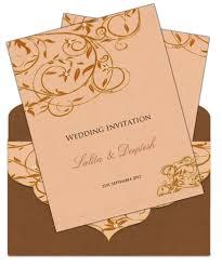 marriage invitation sle marriage card invitation sle style by modernstork