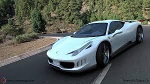 Ferrari 458 Italia White - ferrari 458 italia re imagined by french designer