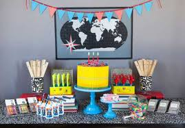 centerpieces for party tables 22 creative back to school party decorations and table centerpieces