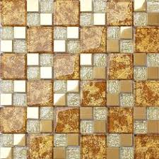 Wholesale Glass Mosaic Tile Squares Red Rose Pattern 304 by Gold Mosaic Tile Resin Glass Conch Tile Backsplash Penny Round