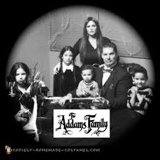 Addams Family Halloween Costumes 166 Family Group Halloween Costumes Images