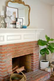 domestic fashionista our fireplace finished