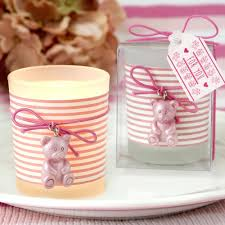 teddy baby shower favors personalized baby shower favors votive candle labels baby